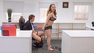 Naughty boss possessions fucked by her assistant