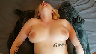 Cara May Sucks, Fucks And Gets A Massive Creampie!