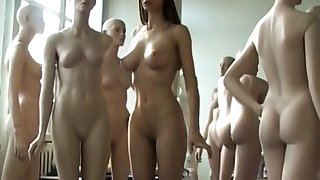Amazing Nude Model in Tricks Film